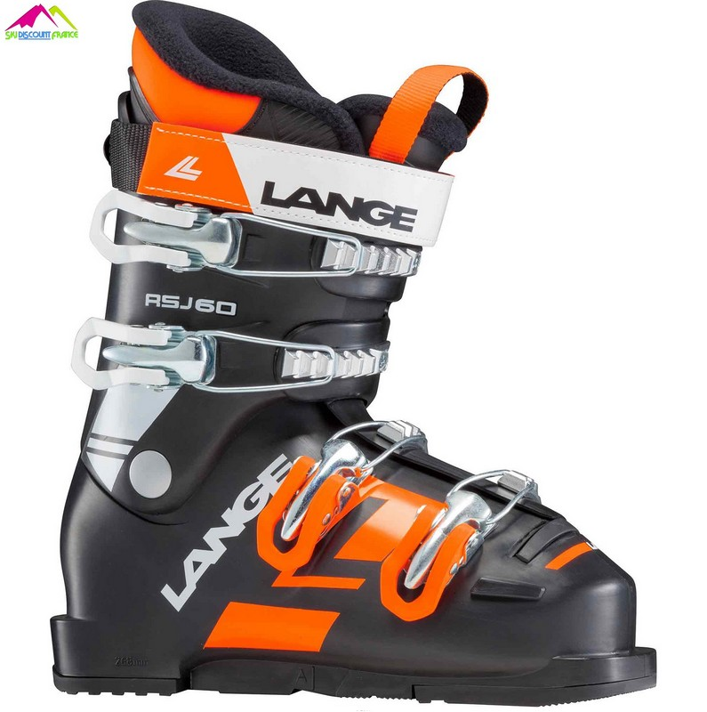chaussures de ski junior lange rsj 60 black 2018
